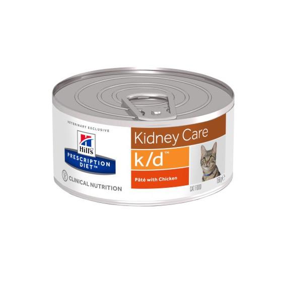 Prescription Diet™ k/d™ Feline with Chicken Boite 24x156gr