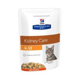 Prescription Diet™ k/d™ Feline pouches, 4x(12x85gr)