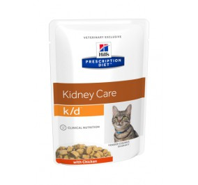 Prescription Diet™ k/d™ Feline en sachet 4x(12x85gr)
