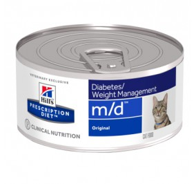 Prescription Diet™ m/d™ Feline Original Boite 24x156gr