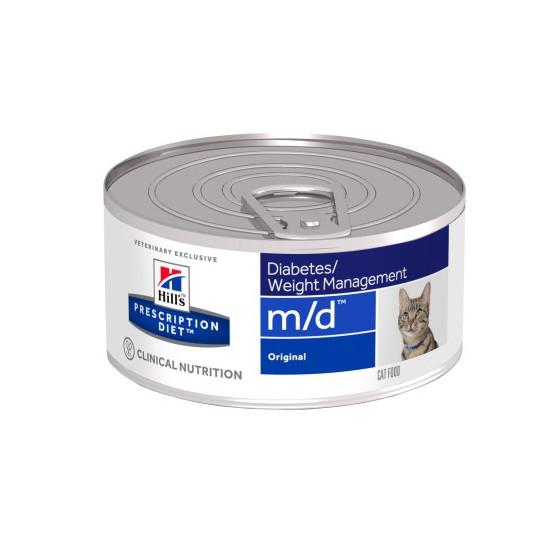 Prescription Diet™ m/d™ Feline Original Box 24x156gr