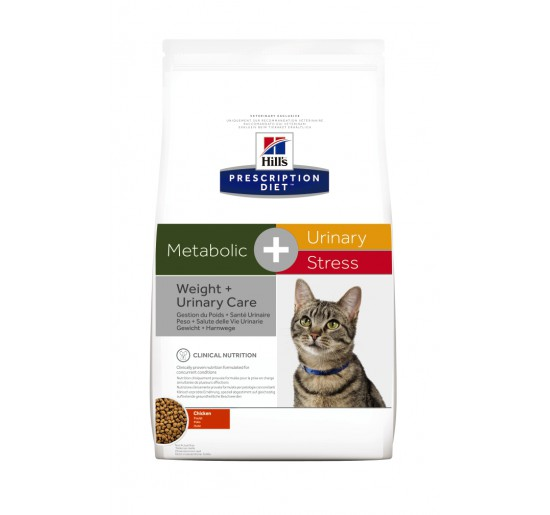 Prescription Diet™ Metabolic + Urinary Stress Feline 1.5kg