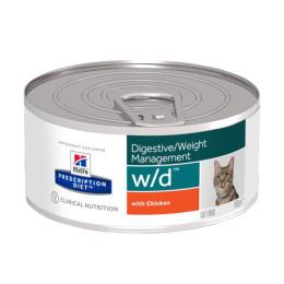 Prescription Diet™ w / d™ Chicken Feline Box 24x156gr