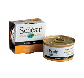 Schesir Cat Box 85g Tuna and Aloe