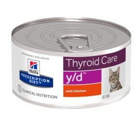 Prescription Diet™ y/d™ Feline Boite 24x156gr