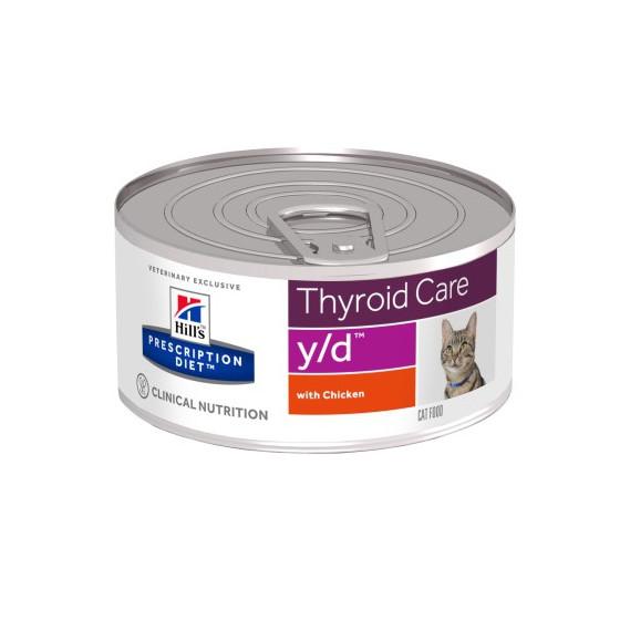 Prescription Diet™ y/d™ Feline Boite 24x156gr