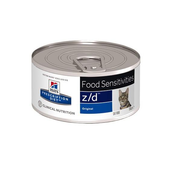 Prescription Diet™ z/d™ Feline Boite 24x156gr