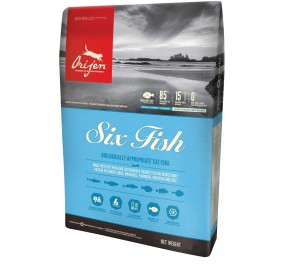 Food for cats ORIJEN fish 1.8 kg