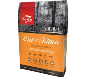 Food for cat Orijen chicken fish 5.4 kg