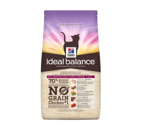 Hill's feline Adult Ideal Balance No Grain 2kg