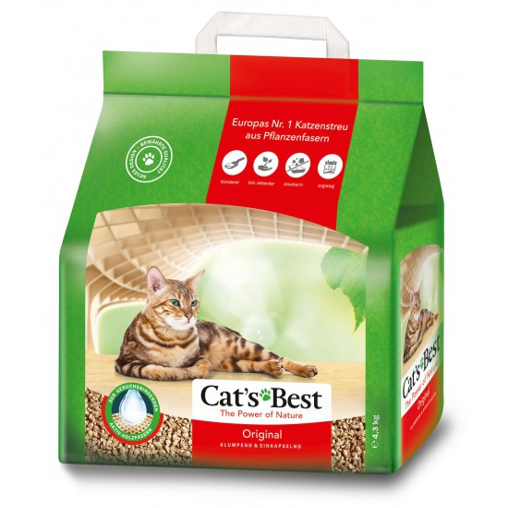 Litiere Cat's Best Oeko Plus 10 lt