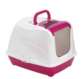 Toilette chat flip cat petite, hot pink