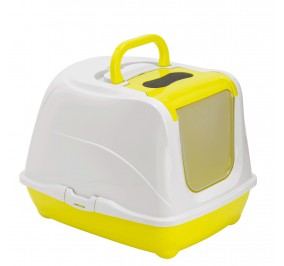 Toilette chat flip cat petite, lemon yellow