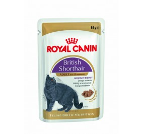 Royal Canin chat humide Breed British 85gr