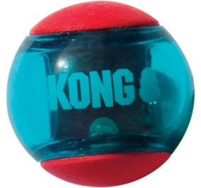 Balle Kong Squeezz Action Small 3pce.