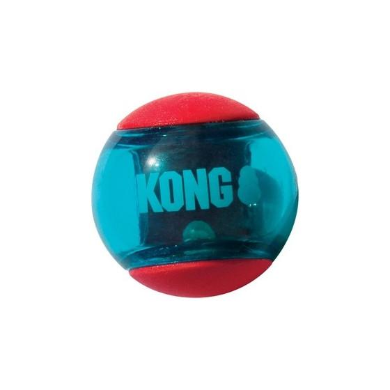 Balle Kong Squeezz Action Medium 3pce.