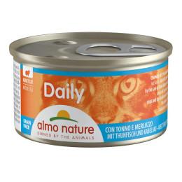 nourriture pour chat Almo,Mousse Thon & Cabillaud