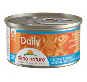 cat food Almo,Mousse Tuna & Cod