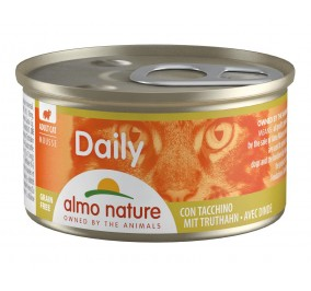 Food for cat foam Almo, box of 85gr, turkey