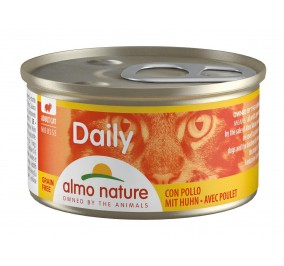 cat food almo Daily Menu Mousse with Chicken 85gr