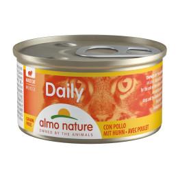 nourriture pour chat almo, Daily Menu Mousse avec Poulet 85gr