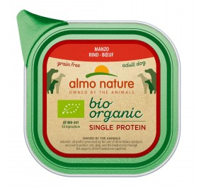 Almo Nature dog,  Single Proteine Boeuf 11x150gr