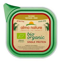 Almo Nature dog,  Single Proteine Dinde 11x150gr
