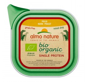 Almo Nature dog,  Single Proteine Poulet 11x150gr