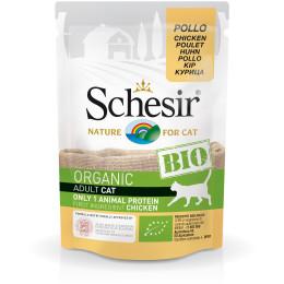 Schesir Cat Pouch Organic Chicken 85gr