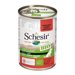 Schesir Dog Box Organic Beef 400gr