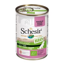Schesir Dog Boite Bio Porc 400gr