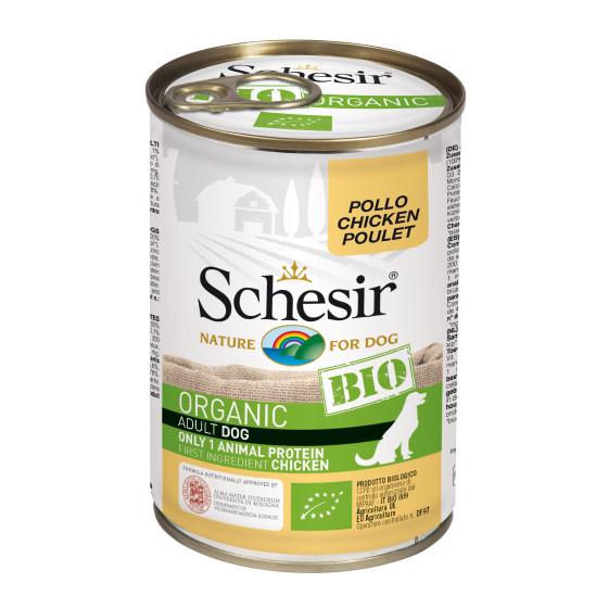 Schesir Dog Box Organic Chicken 400gr