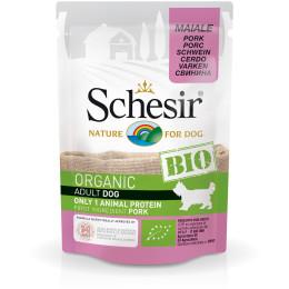 Schesir Dog Sachet Bio Porc 85gr