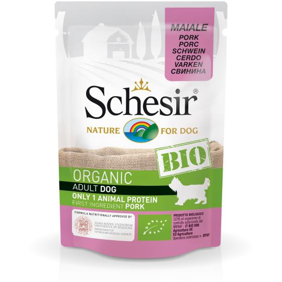 Schesir Dog Bag Organic Pork 85gr