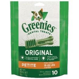 Greenies Pack 170gr Petit pour chien de 7 a 11kg