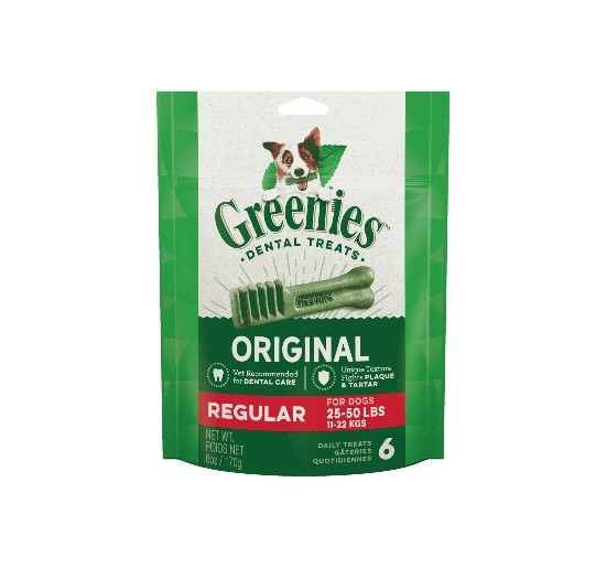 Greenies Pack 170gr Regular dog from 11 to 25kg