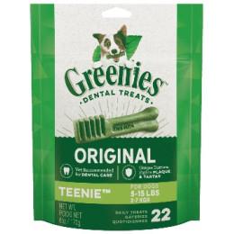 Greenies Pack 170gr Teenies pour chien de 2 a 7kg
