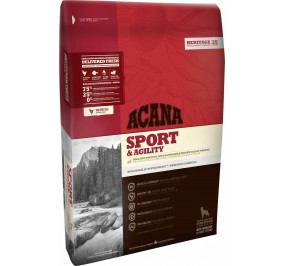 ACANA dog adult sport and agility 13kg (disponible entre 6 a 8 jours)