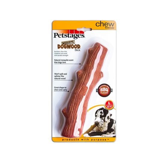 Jouet chien Petstages, Stick Dogwood Mesquite L