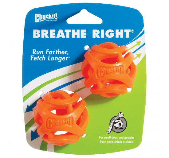 Chuckit Balle Fetch Ball Breathe Right S