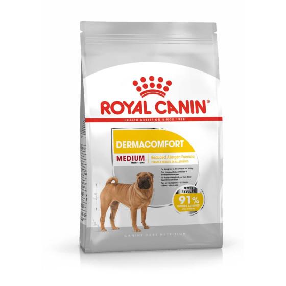 Royal Canin dog SIZE N medium Dermacomfort