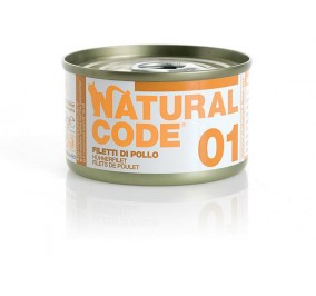 Natural Code Cat boite N°1 Filet de Poulet 85gr