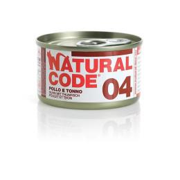 Natural Code Cat boite N°3 Poulet et thon 85gr
