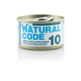 Natural Code Cat boite N°10 Thon et Poissons Blanc 85gr