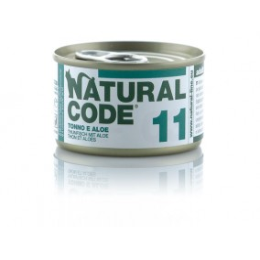 Natural Code Cat boite N°11 Thon et Aloes 85gr