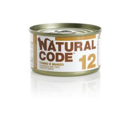Natural Code Cat boite N°11 Thon et boeuf 85gr