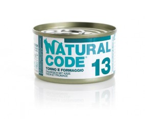 Natural Code Cat boite N°13 Thon et Fromage 85gr