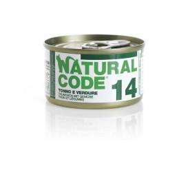 Natural Code Cat boite N°14 Thon et Légumes 85gr