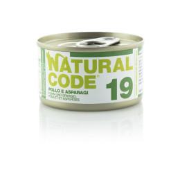 Natural Code Cat boite N°19 Poulet et Asperges 85gr