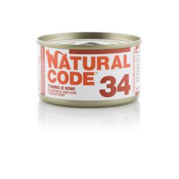 Natural Code Cat boite N°34 Thon et Kiwi 85gr